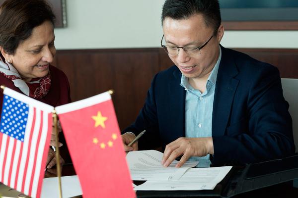 Eric Jing and Sri
