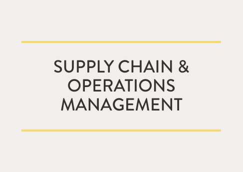 Supply Chain and Operations Management | Carlson School of