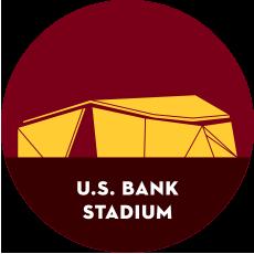 U.S. Bank Stadium illustration