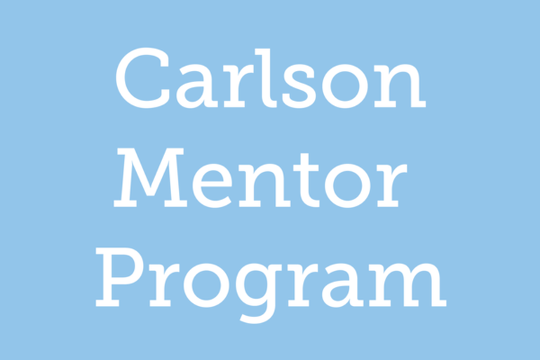 Carlson Mentor Program Logo