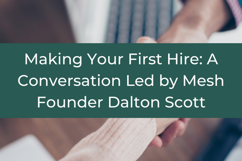 Making Your First Hire
