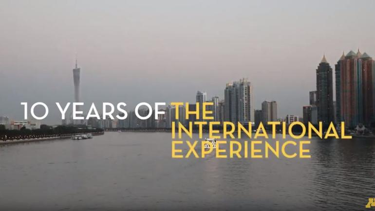 10 Years of the International Experience