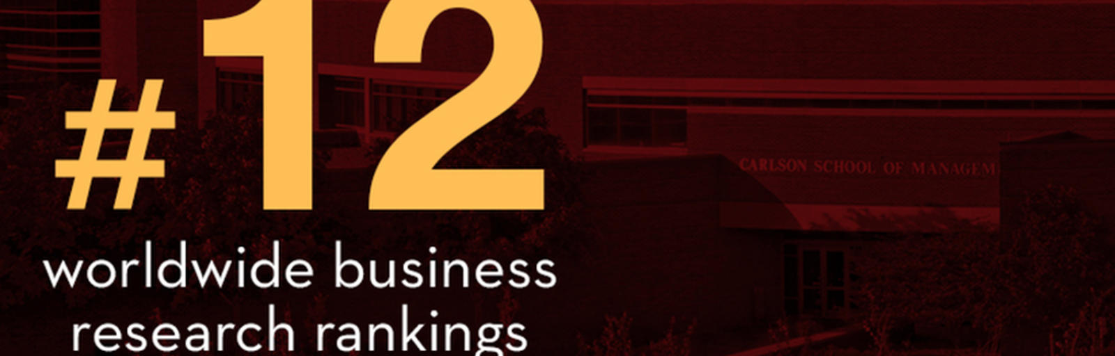 #12 Worldwide Business Research Rankings