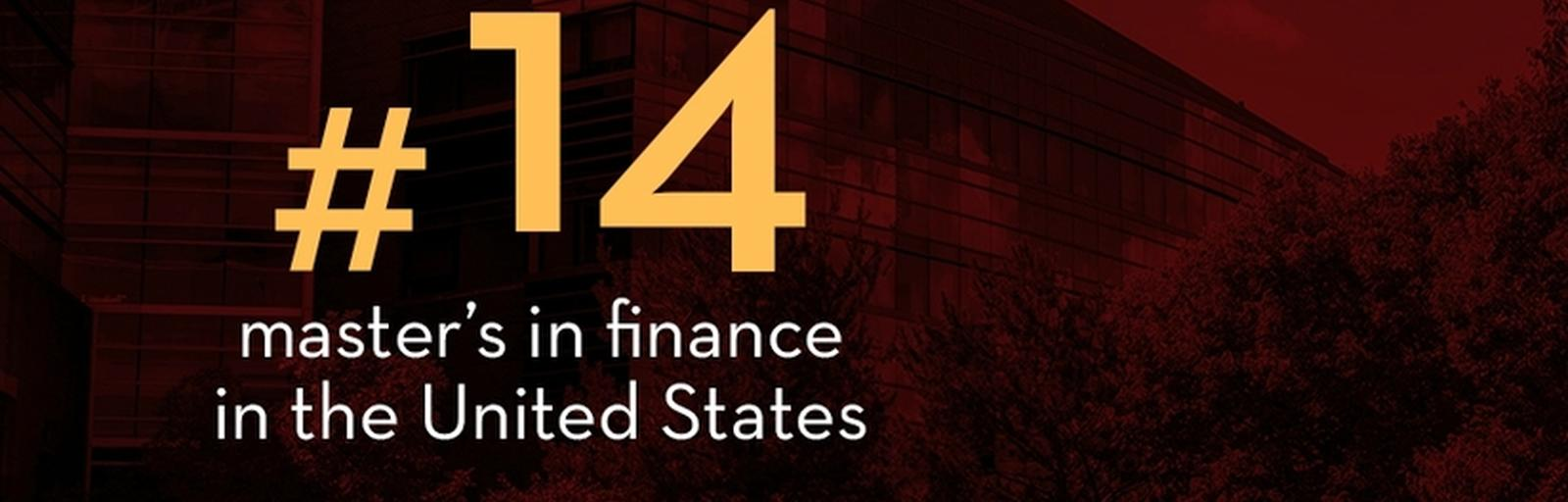 Master's in Finance Ranking