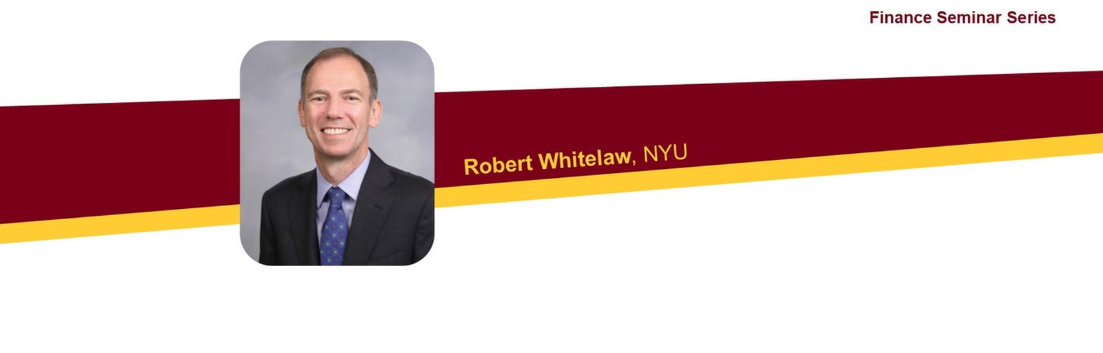 Photo of Robert Whitelas with event text