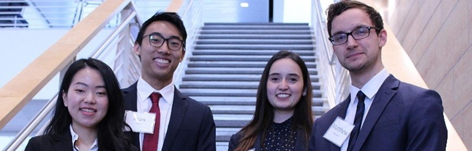 Undergraduates Finish Second in Competition