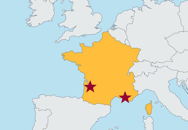 Marseille On Map Of France.Kedge Business School Bordeaux Marseille Carlson School Of