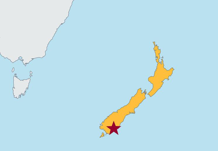 Dunedin Map New Zealand.University Of Otago Dunedin Carlson School Of Management