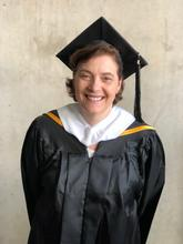 Laurie Gunn at Commencement