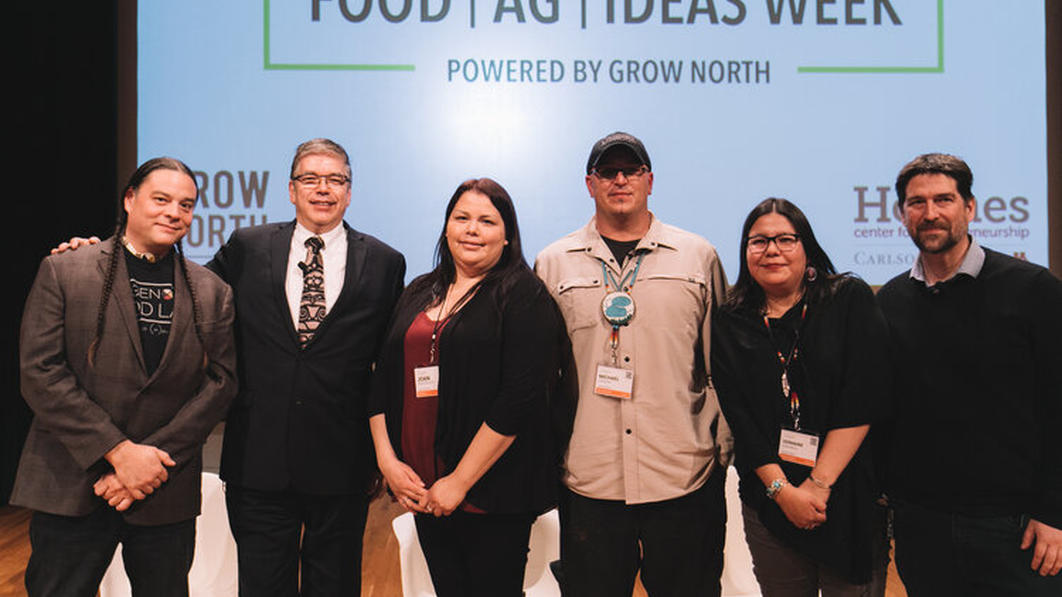 Food Ag Ideas Week presenters on stage photo