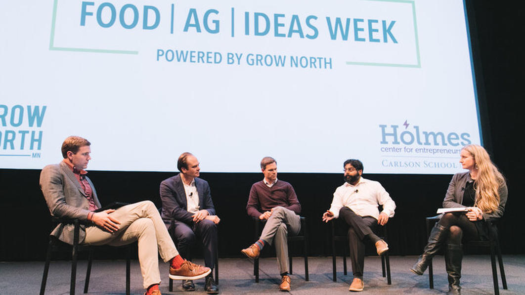 Food Ag Ideas Week group panel