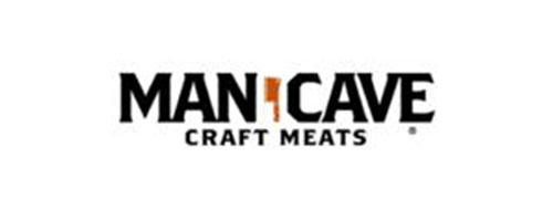 Man Cave craft meats logo